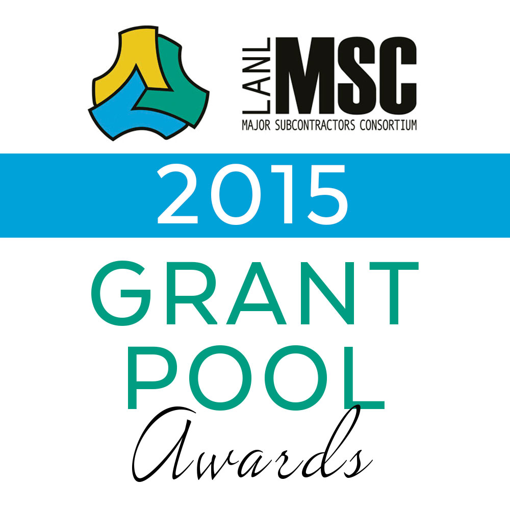 LANL MSC Grant Pool Awards 2015